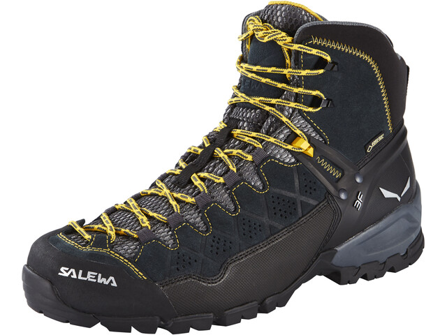 Salewa Alp Trainer Mid GTX - Calzado Hombre - gris/negro
